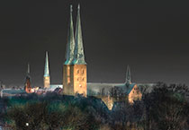 Lighting Plan for Lübeck Old Town